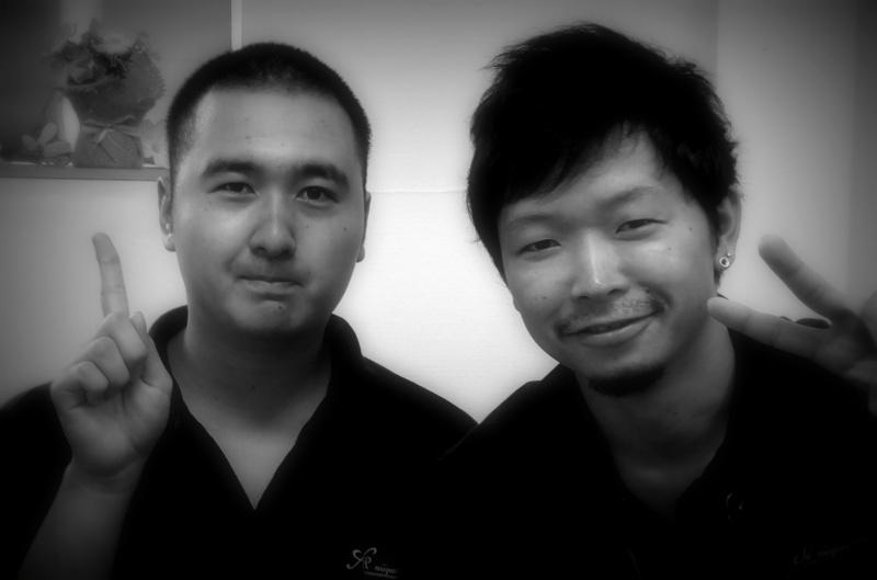 左:タクさん 右:代表取締役社長 小林俊介